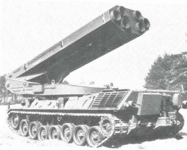 प्रोजेक्ट MLRS रॉकेट सिस्टम 80 (जर्मनी, यूके, इटली)