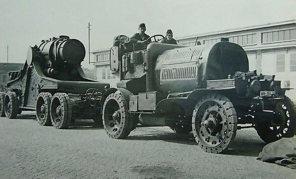 Грузовые автомобили Первой мировой войны. Австро-Венгрия и Германия