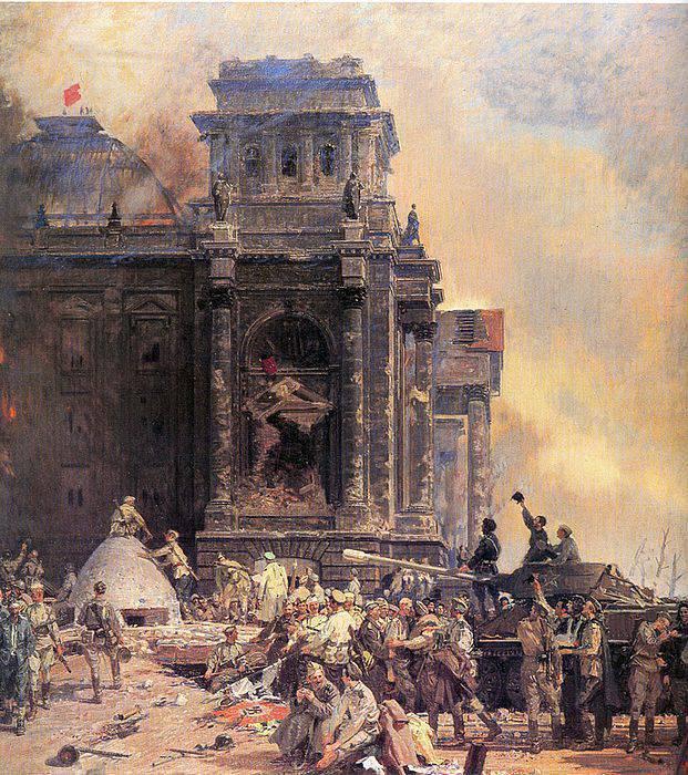 Великая историческая победа Красной Армии: 2 мая 1945 г. пал Берлин