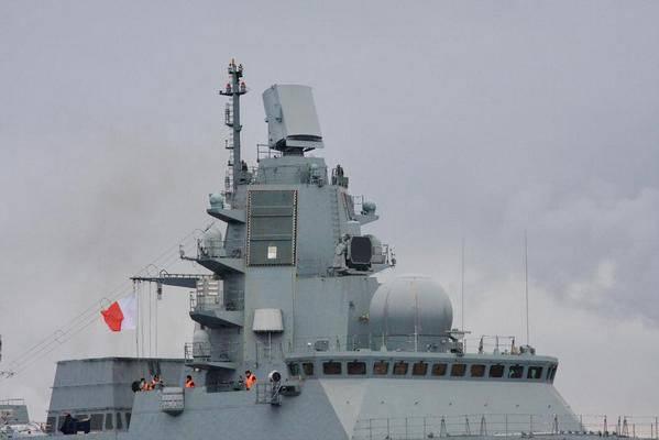 रूसी नौसेना के लिए सबसे अच्छा फ्रिगेट