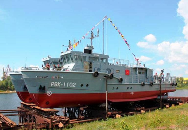 In Nizhny Novgorod, 2 raid boats are launched