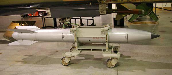 Bombes thermonucléaires tactiques de la famille B61 (USA)