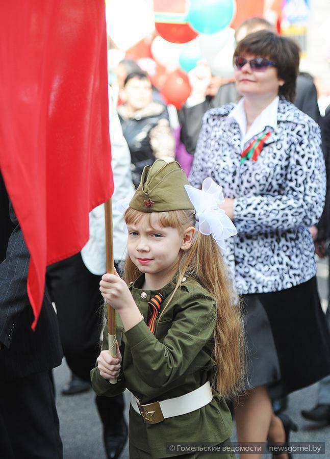 Une compilation de photographies de la Victory Parade 9 May 2015 de l'année à Gomel