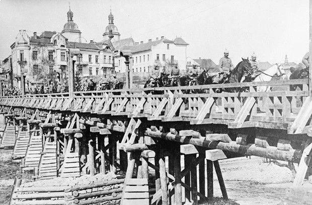 第一次世界大戦中のガリシア