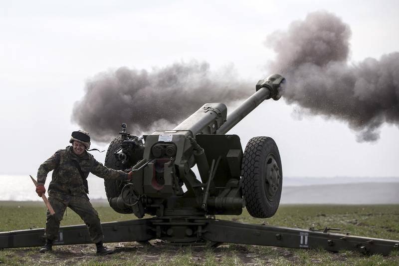 A guerra no sudeste da Ucrânia muda qualitativamente