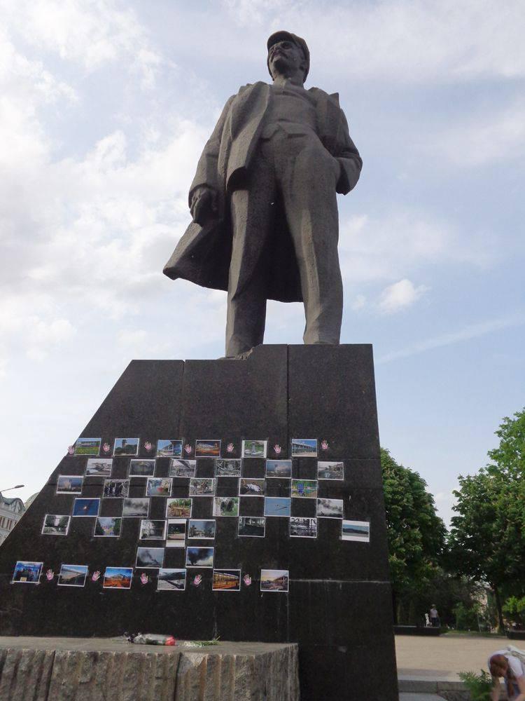 Même les pigeons de Donetsk rêvent de paix