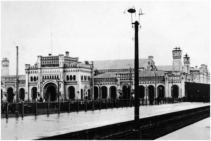 A defesa da estação ferroviária em Brest
