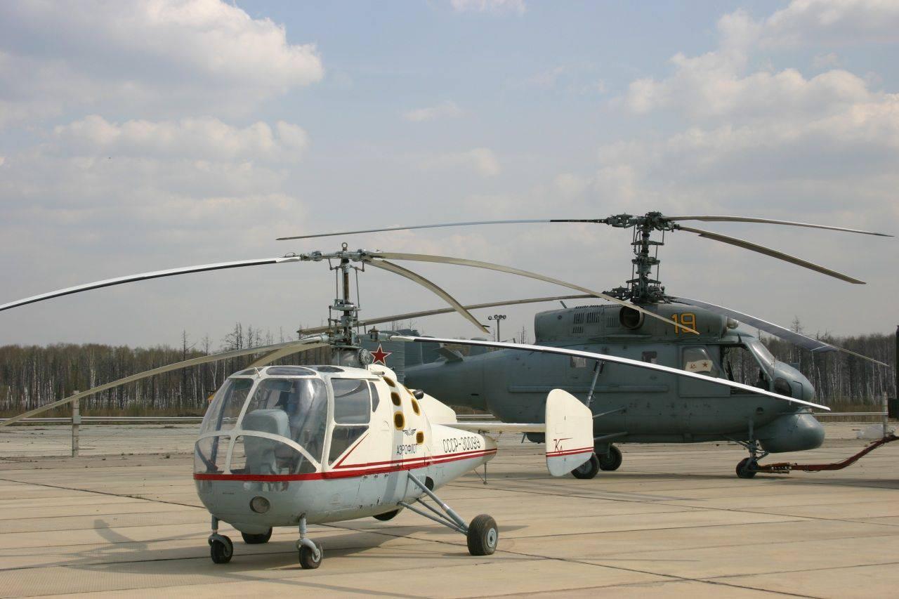 устройство и схема вертолета ка 10