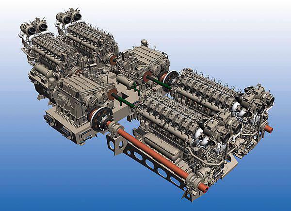Motor eksikliği ve askeri gemi yapımının umutları