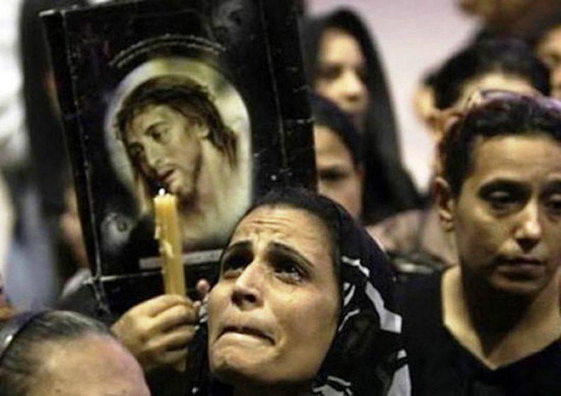 シリアのキリスト教の戦闘機は、大量処刑の報復でイスラム教徒の頭に