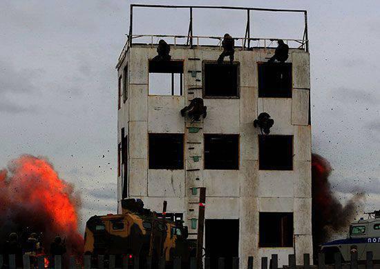 Il gruppo operativo delle truppe russe in Transnistria iniziò ad esercitarsi