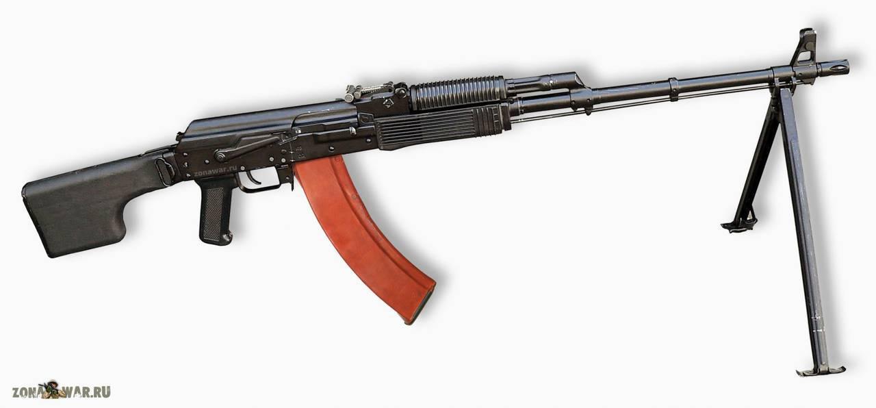 Принцип Работы Пулемета Калашникова