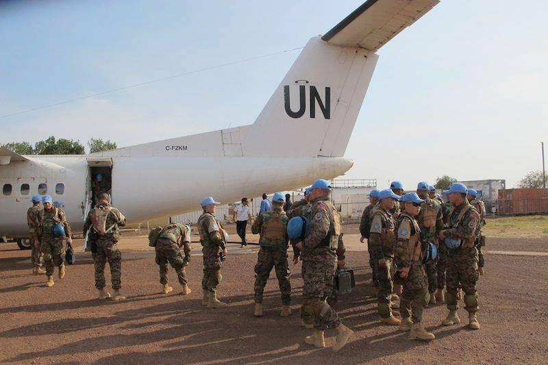 联合国报告:维和人员2008至2013 对非洲和中美洲的未成年人进行了160性行为