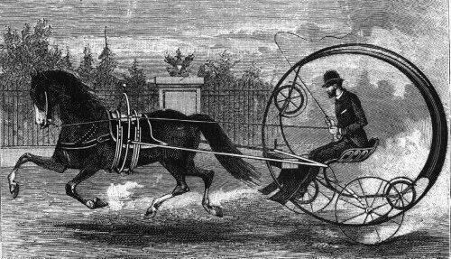一輪車としてこの車を覚えています!