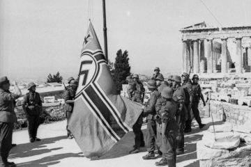 ギリシャとの赤のパルチザンに対するイギリスとナチスの共同闘争(1941  -  1945)