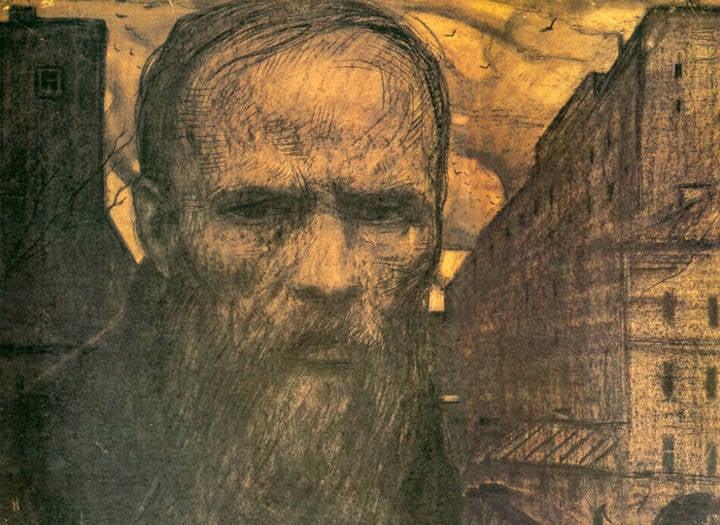 """Scrittore """"difficile"""". Fedor M. Dostoevsky"""