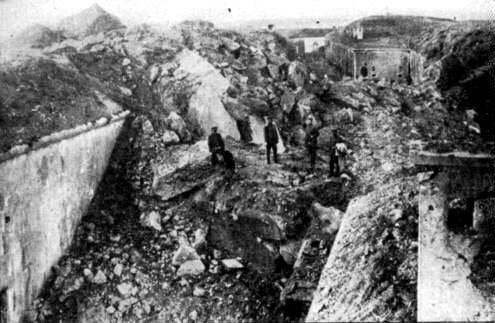 第一次世界大戦:リエージュの要塞