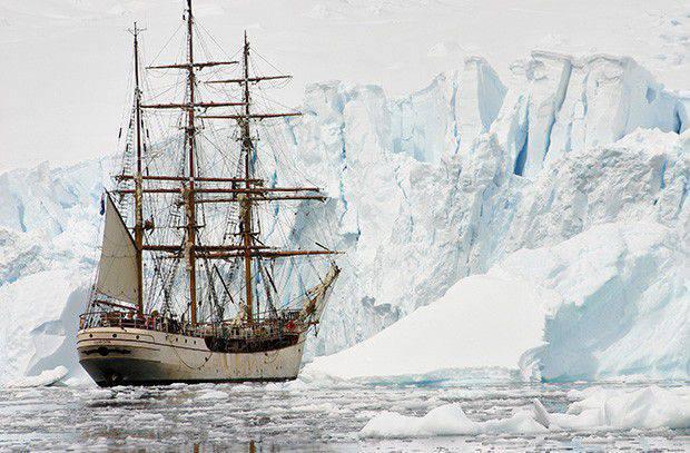 Comment les marins russes ont découvert l'Antarctique