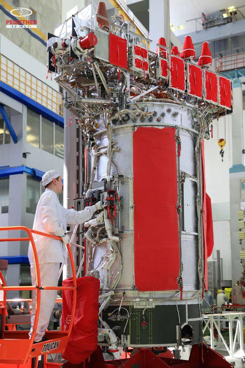"JSC 사무 총장은 ""ICS 그들을. Reshetnyova ""는 우주선 생산에 대한 제재의 영향에 대해 언급했다."