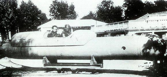 人間制御の魚雷SSB(イタリア)