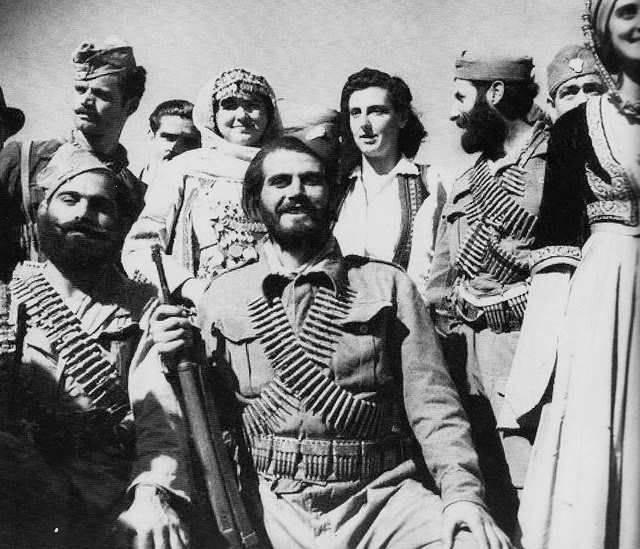 希腊党派反对纳粹,英国和他们的追随者