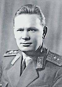O chefe da inteligência estrangeira da URSS do NKGB, P.M. Fitin 1945 ano. Foto cedida pelo autor