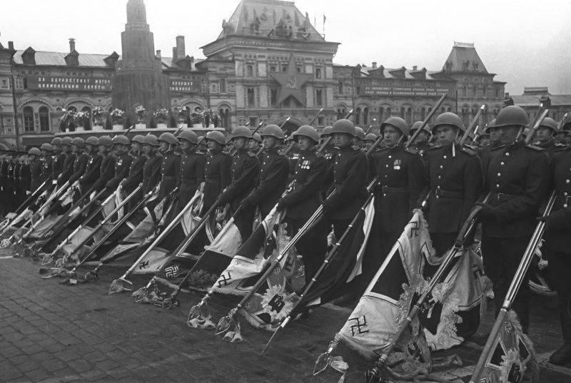 Священный Парад Победы 24 июня 1945 года