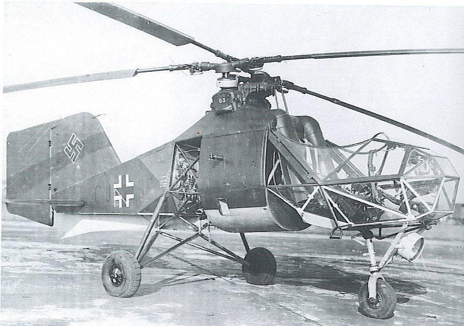 Необычная схема вертолета
