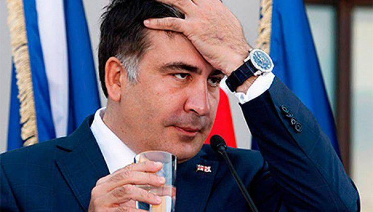Mikheil Saakashvili:プーチン大統領は横たわって、人々が絶望に達するのを待つ