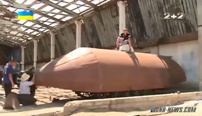 ウクライナの農民がAPUの巨人「ブロネソシスク」に集まった。
