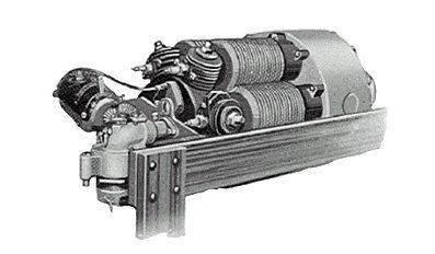 Motor de combustão interna axial G.L.F. Treberta (EUA)