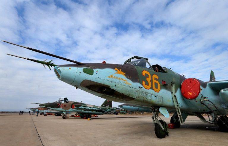 Este ano, o Ministério da Defesa da Rússia receberá dez Su-25 com novos complexos EW