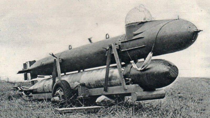 人間制御の魚雷Marder(ドイツ)