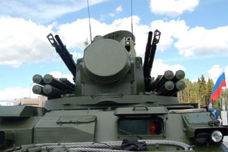 """""""Tunguska"""" atualizado no fórum Army-2015"""
