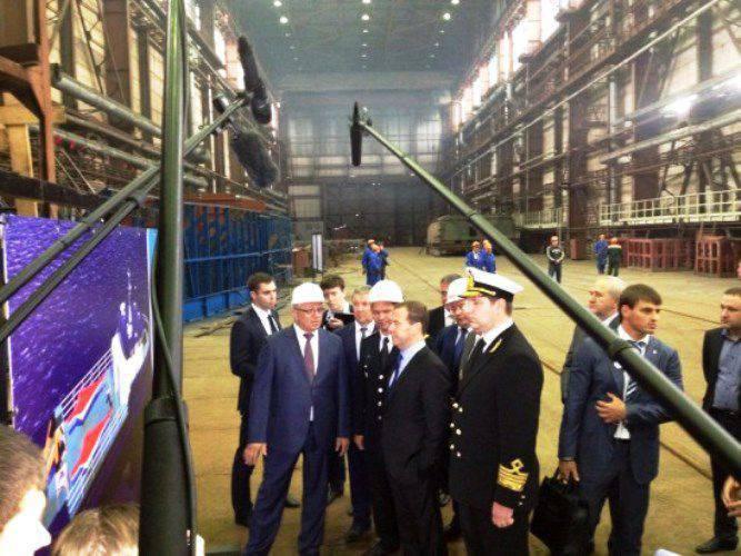 A Rússia substituirá gradualmente as embarcações civis importadas pelas domésticas.