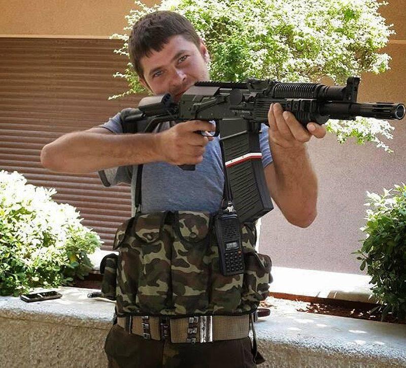 ロシアから愛をこめて。 シリアの炭化物Vepr-12