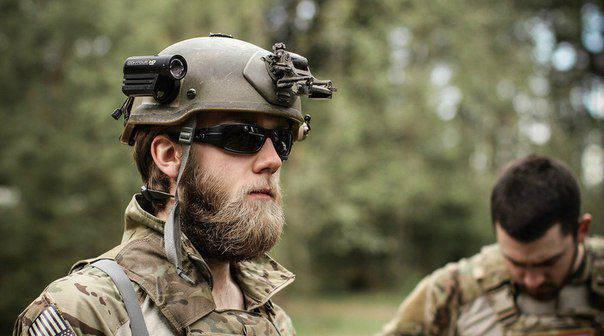 NATO bloğunun askerlerine yardım etmek için: taktik sakal