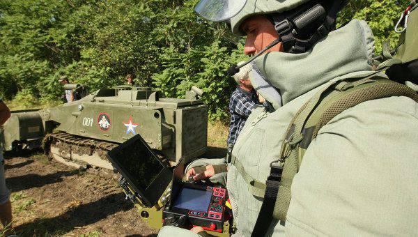 OPKは戦闘ロボット用のソフトウェアのテストを開始しました