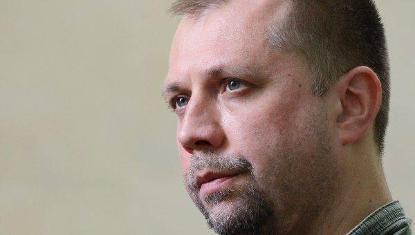 Reuters: Alexander Boroday no descartó la posibilidad de la intervención de Rusia en el conflicto en el Donbas