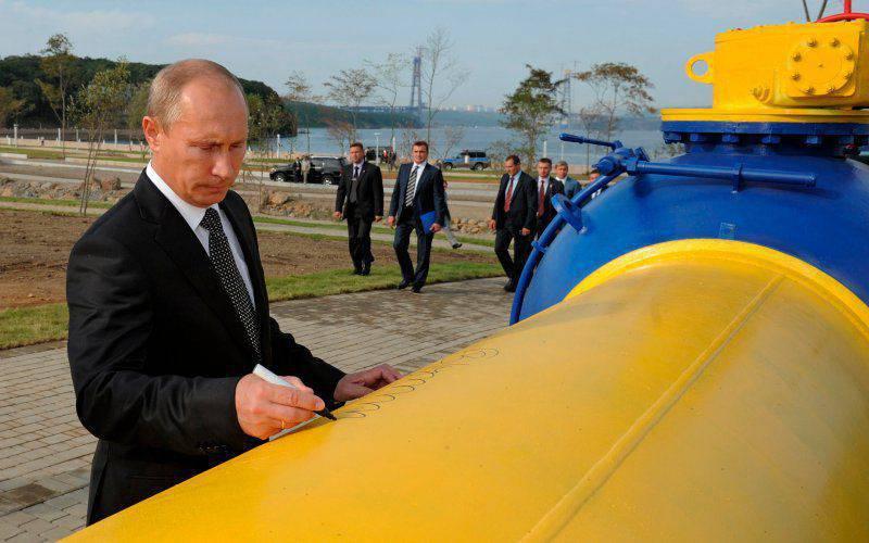 Ácaros de gás de Putin