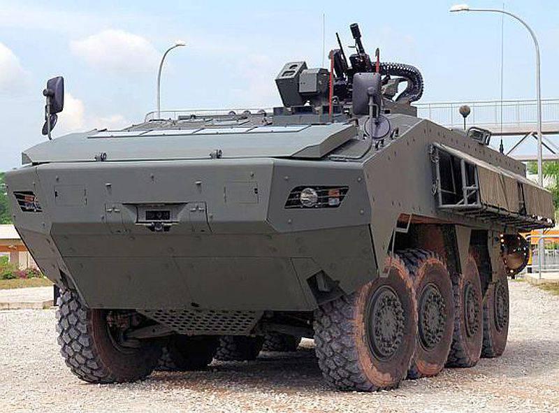 Análise do mercado de veículos blindados realizado pelo Mönch Publishing Group (parte da 1)