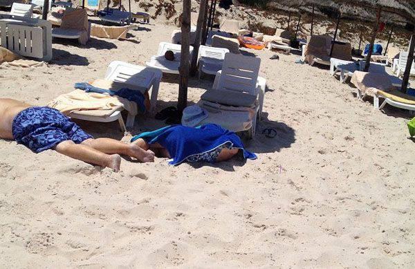 リゾート都市チュニジアでのテロ行為