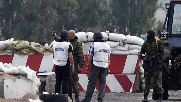 OSCE SMM:「ドンバスの境界線の領域にウクライナ軍がかなり集中している」