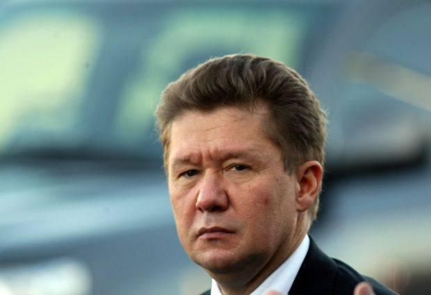 """""""ガスプロム""""の頭はキエフがロシアにドンバスにガスを供給しないように頼んだと言った"""