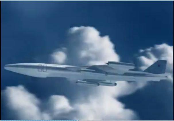 М-60. Атомный самолёт В.М. Мясищева