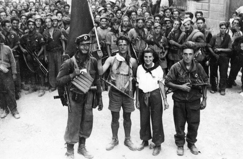 "Soviet heroes freed the ""eternal city"". Roman underground"