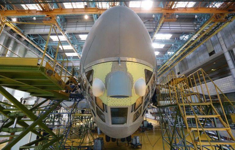 Outro IL-76MD-90А transferido para a estação de teste