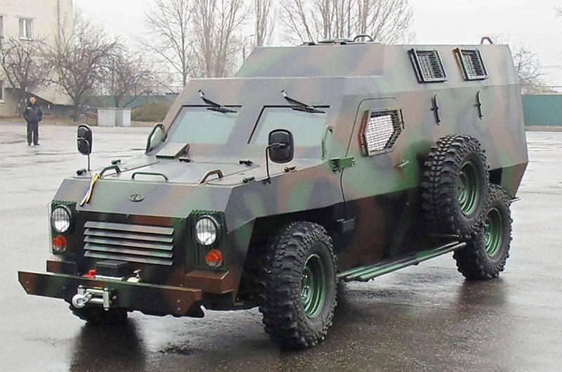 La società ucraina Bogdan ha sviluppato un nuovo veicolo blindato Leopard-6