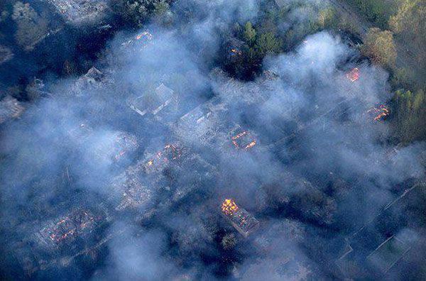 Tchernobyl en feu. Pourquoi Greenpeace est-il silencieux?