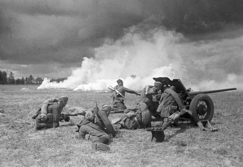 Главной огневой силой Сухопутных войск в годы Великой Отечественной войны являлась артиллерия